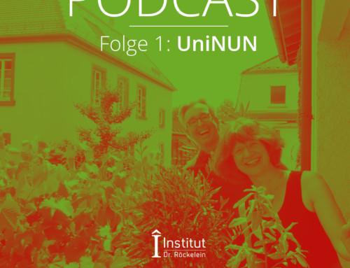Ausgabe 06/2021: Am 18. Juni 2021 trafen sich Kirsten Baumbusch und Christoph Röckelein, um sich über das neue Bildungsformat UniNUN zu unterhalten. Dieses Booklet soll Ihnen ergänzend zum Podcast einen Überblick über die Inhalte von UniNUN geben.
